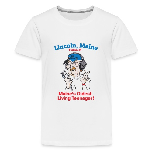 Maine's Oldest Living Teenager - Kids' Premium T-Shirt