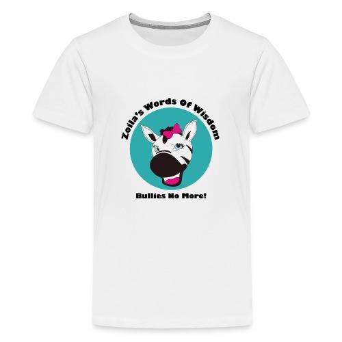 Zoila The Zebra - Kids' Premium T-Shirt
