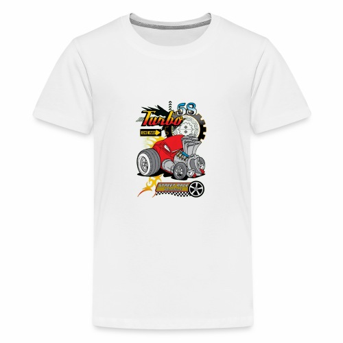 TURBO STREET RACE - Kids' Premium T-Shirt
