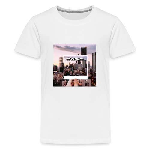 Skyline Poloraoid series - Kids' Premium T-Shirt