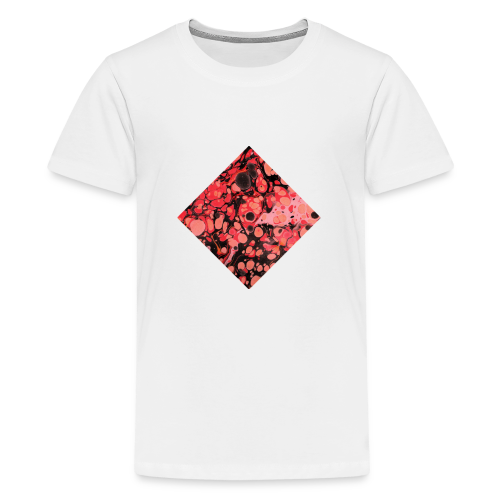 Red Diamond Shape - Kids' Premium T-Shirt