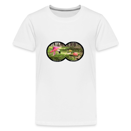 Fly Agaric Flamingo - Kids' Premium T-Shirt
