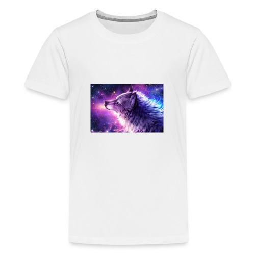 Galaxy Wolf - Kids' Premium T-Shirt