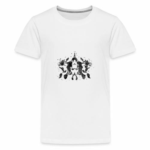 Rorschach, Rorschach inkblot test,card 10 - Kids' Premium T-Shirt
