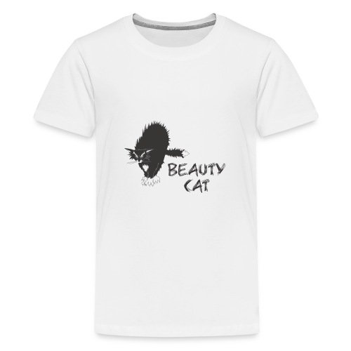 Beauty Cat Funny Cool clothes - Kids' Premium T-Shirt
