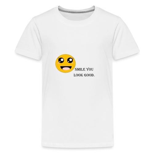Smile - Kids' Premium T-Shirt