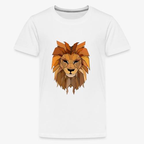 lion vintage - Kids' Premium T-Shirt