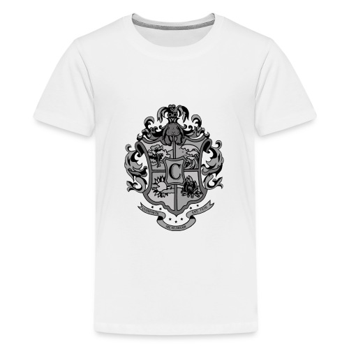 Coat of Arms with Bunny - Kids' Premium T-Shirt