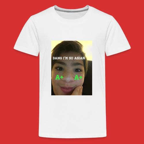 Asian guy - Kids' Premium T-Shirt