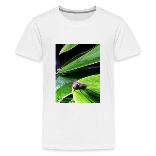 Fly On A Plant - Kids' Premium T-Shirt