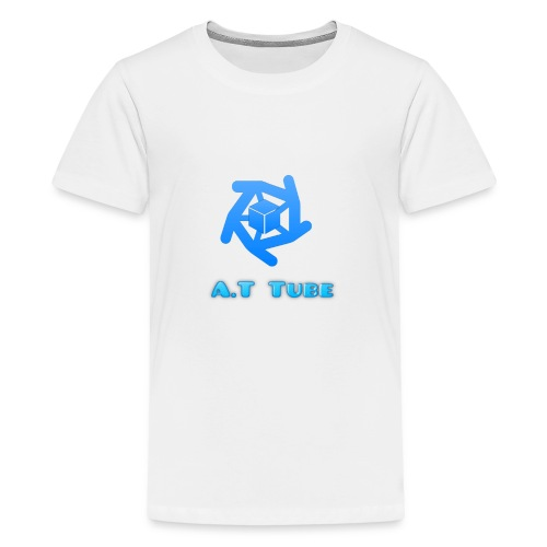 A.T Tube (White) - Kids' Premium T-Shirt