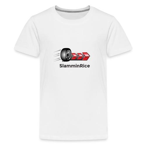 SlamminRice Tire shirts - Kids' Premium T-Shirt