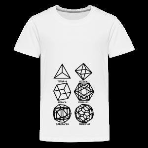 SHAPES^x - Kids' Premium T-Shirt