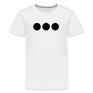 Three Black Dots - Kids' Premium T-Shirt