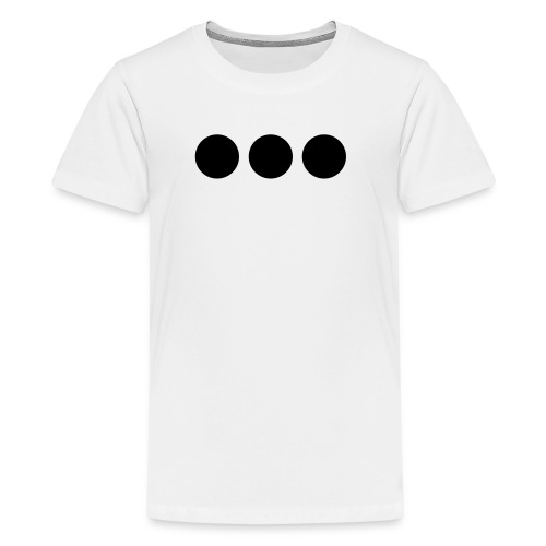 Three Black Dots - Kids' Premium T-Shirt