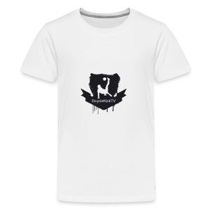 BicycleKickTV Classic Logo - Kids' Premium T-Shirt