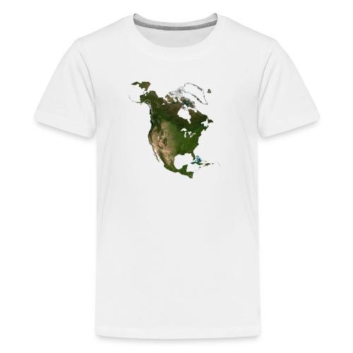 North America - Kids' Premium T-Shirt