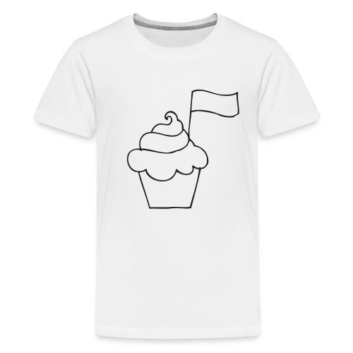 Cupcake Doo-Dats - Kids' Premium T-Shirt