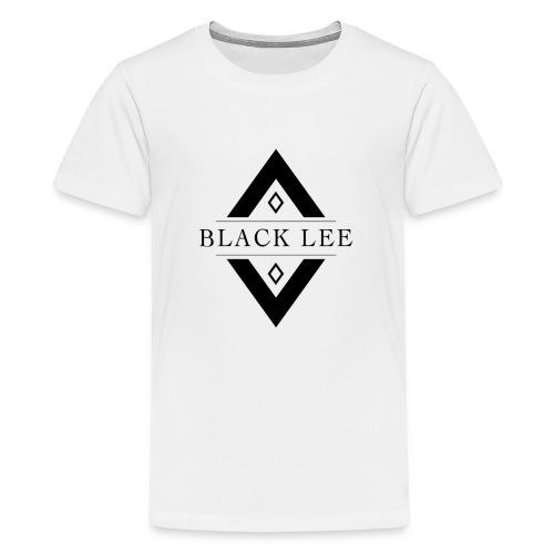 Black Lee Logo Transparent Black - Kids' Premium T-Shirt