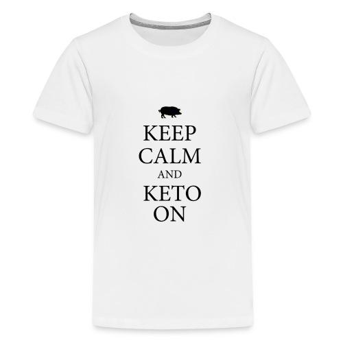 Keto keep calm2 - Kids' Premium T-Shirt