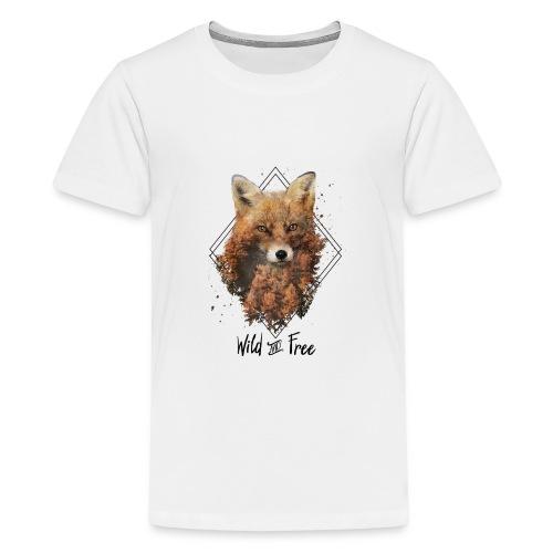 Wild & Free Fox - Kids' Premium T-Shirt