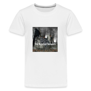 The Survival Network's official logo design. - Kids' Premium T-Shirt