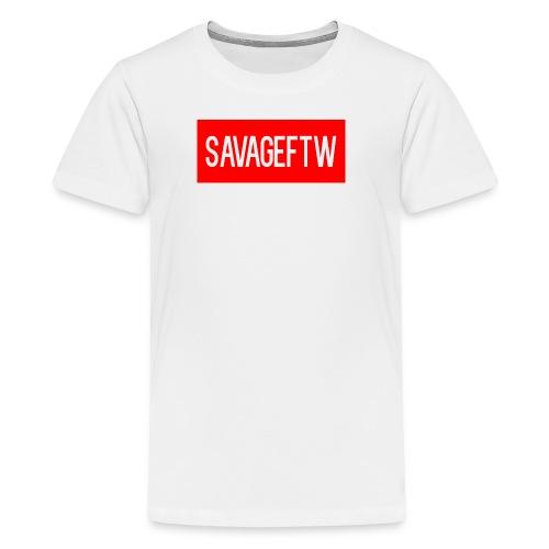 savageftw shirt - Kids' Premium T-Shirt