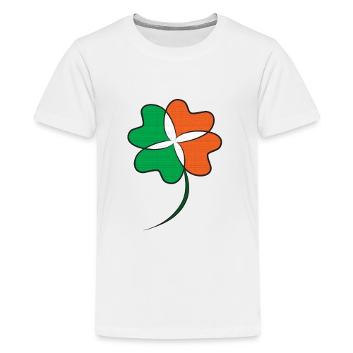 Irish Clover - Kids' Premium T-Shirt