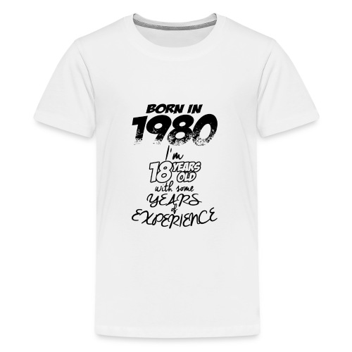 3 born in 1980 - Kids' Premium T-Shirt