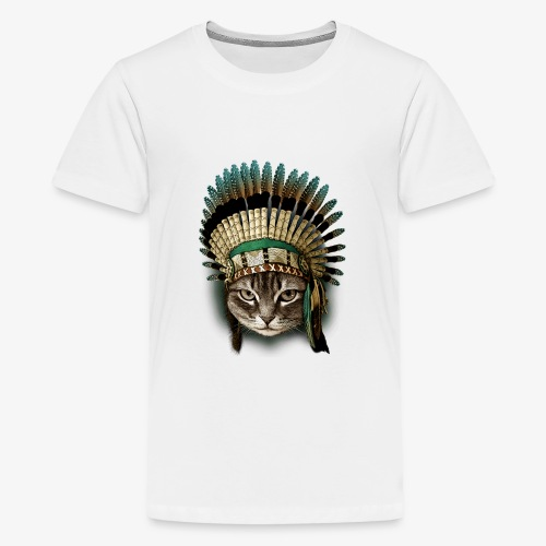 the chief cat - Kids' Premium T-Shirt
