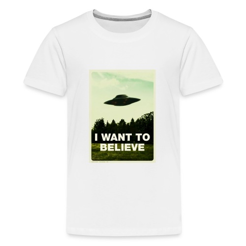 i want to believe (t-shirt) - Kids' Premium T-Shirt