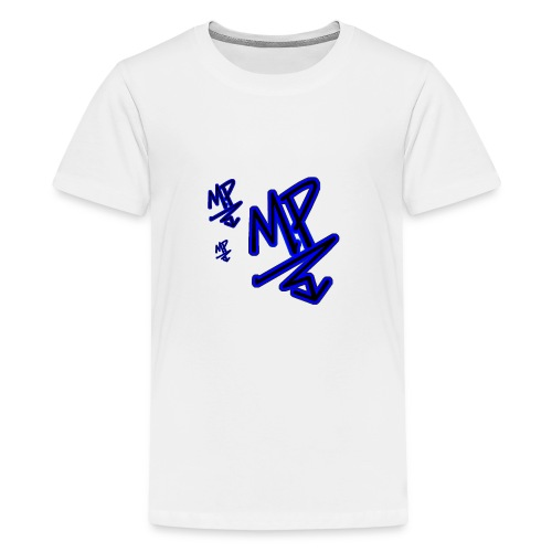 mp signature logo by Editing Madness - Kids' Premium T-Shirt