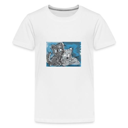 Wolf Family - Kids' Premium T-Shirt