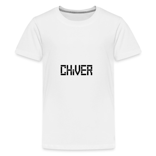 C(S)HiVER Black Logo - Kids' Premium T-Shirt