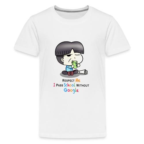 I pass school without Google - Kids' Premium T-Shirt