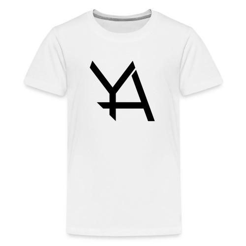 Young Adamant Black Logo - Kids' Premium T-Shirt