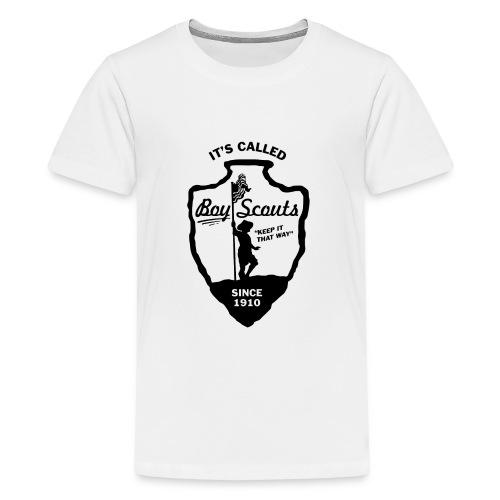 BOY Scouts is for BOYS - Kids' Premium T-Shirt