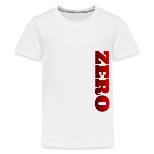RED/BLACK LOGO - Kids' Premium T-Shirt