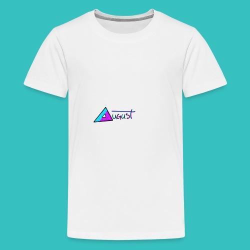 august aquapurp whiteout collection - Kids' Premium T-Shirt