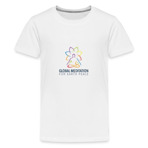 Global Meditation • For Earth Peace - Kids' Premium T-Shirt