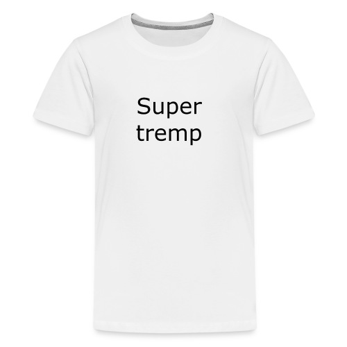 Super tremp name logo - Kids' Premium T-Shirt