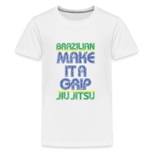 BJJ Make It A Grip Tee - Kids' Premium T-Shirt