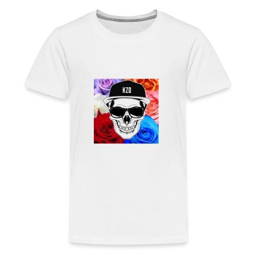 kzdSKullandrose - Kids' Premium T-Shirt