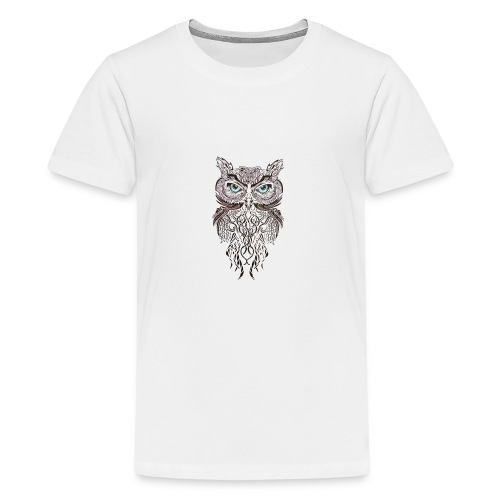 tatouage ephemere hibou tribal - Kids' Premium T-Shirt