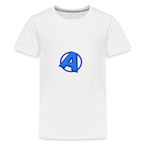 Awesomegamer Logo - Kids' Premium T-Shirt