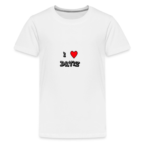 I Love Daviz - Kids' Premium T-Shirt