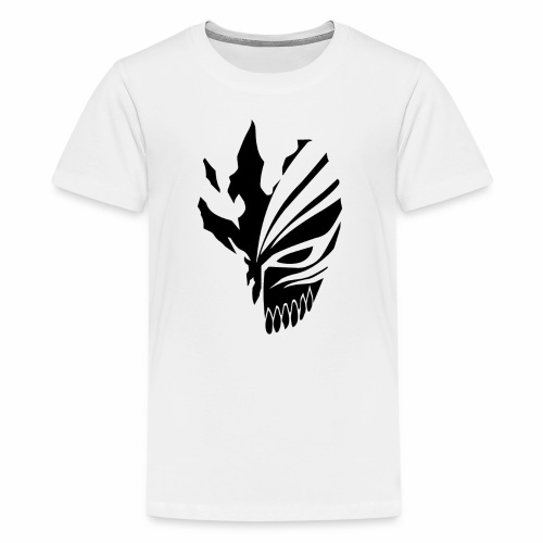 Hollow Mask Black - Kids' Premium T-Shirt