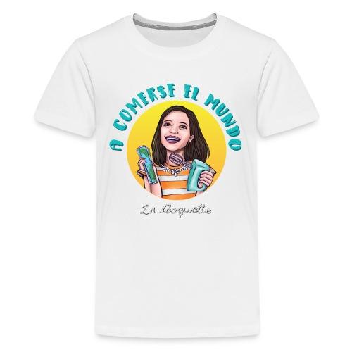 Comerse el mundo - La Cooquette - Kids' Premium T-Shirt