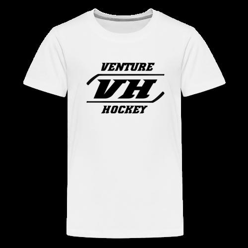 Original Venture Hockey Logo - Kids' Premium T-Shirt