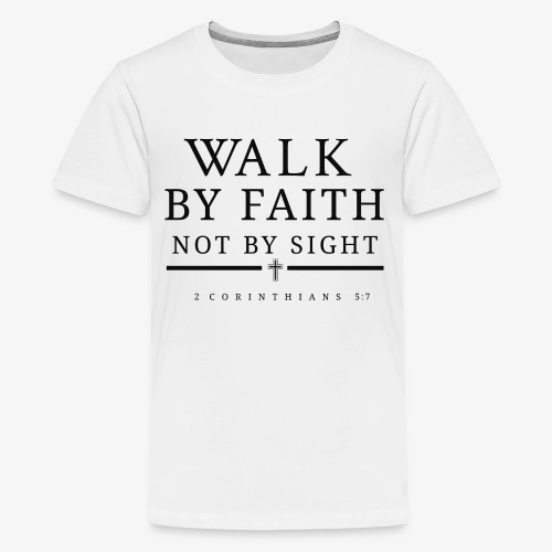 Corinthians 5:7 - Kids' Premium T-Shirt
